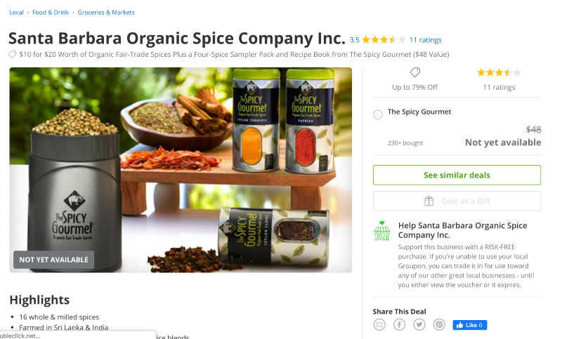 the spicy gourmet groupon