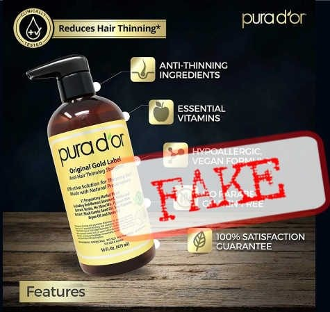WARNING: Free Pura D'Or Gold Shampoo Haircare by Mail!