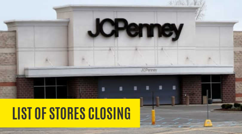 jcpenney store closings