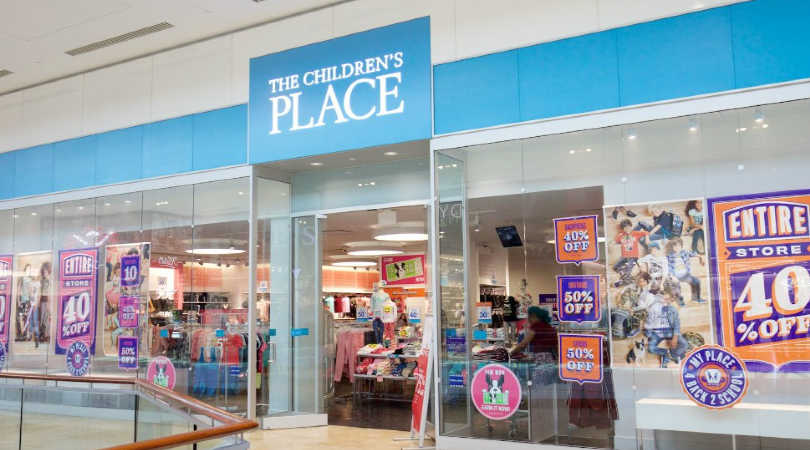 the childrens place mall store