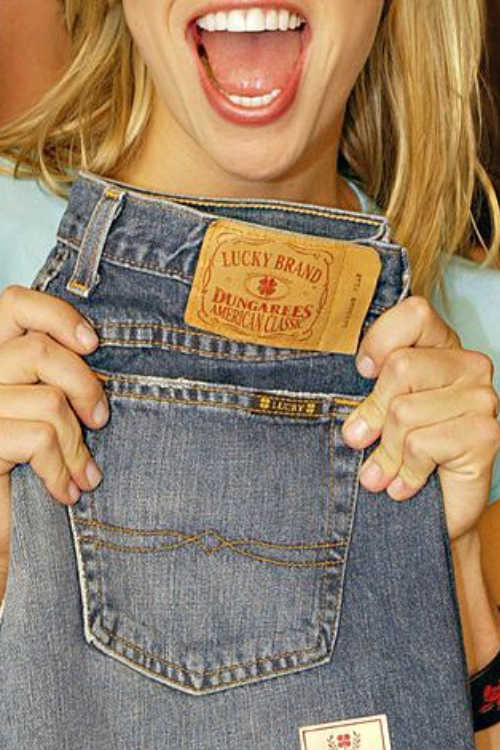 lucky brand jeans dungarees