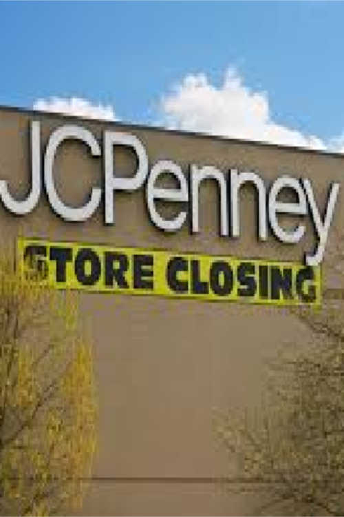 jcpenney store closing list