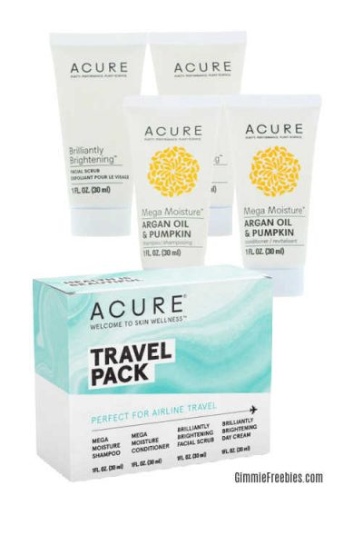 acure travel pack scam